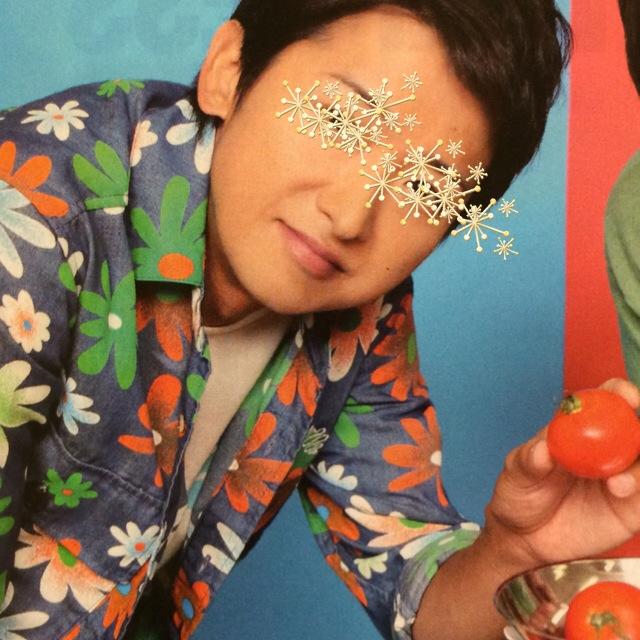嵐衣装大野智 VS嵐着用花柄シャツ 10月9日