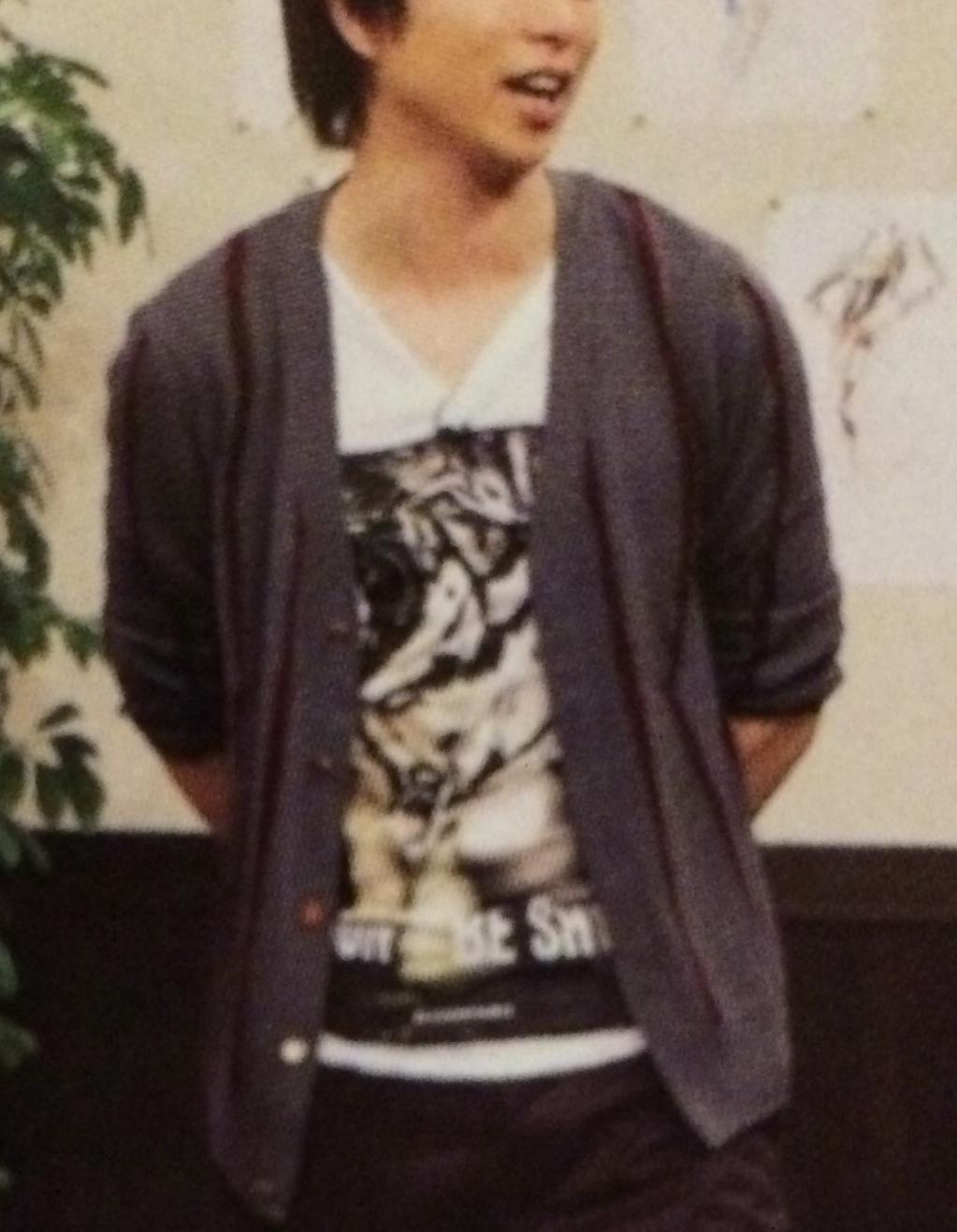 嵐衣装 櫻井翔さん10月25日嵐にしやがれ着用のカーディガン
