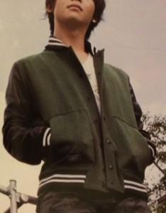 有岡大貴Myojo衣装 スタジャン