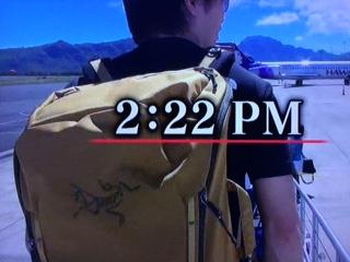 嵐衣装 櫻井翔 嵐にしやがれハワイSP11月1日使用のリュック