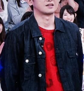大野智 4月9日VS嵐着用の衣装 デニムジャケット
