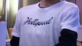 相葉雅紀 ようこそわが家へ着用 Hollywood Tシャツ