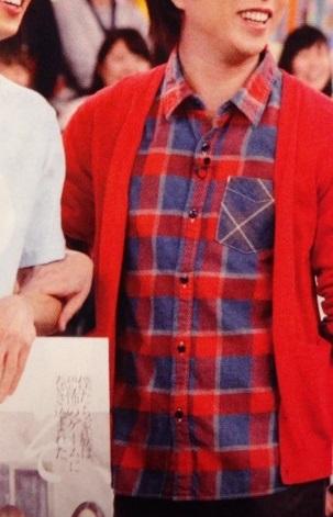 櫻井翔 VS嵐4月9日着用の衣装チェックシャツ