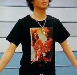 藤ヶ谷太輔 私服 UTAGE Tシャツ