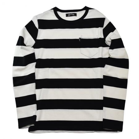 相葉雅紀 ジャニウェブ着用衣装 ボーダーTシャツ