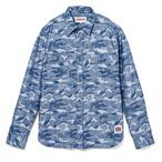 薮宏太いただきハイジャンプ着用の衣装 デニムシャツ