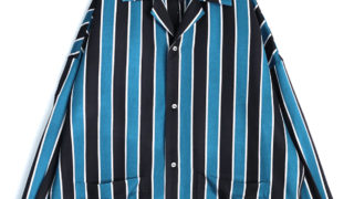 11/7のジャニッPONで中島健人くんが衣装で着用したSHAREEFのストライプシャツ