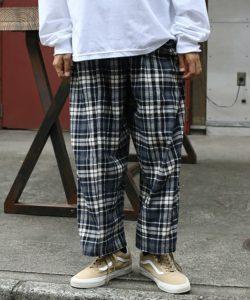 相葉雅紀さんがVS嵐で着用した衣装のFREAK'S STOREネルチェック ワイドパンツ
