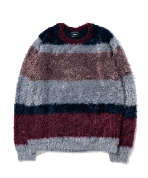 山田涼介 衣装のglamb Kaylee border knit