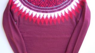 winkup2018年1月号でHey!Say!JUMPの八乙女光くん着用の衣装のundecoratedMan nordic knit top