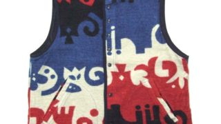 1/11のVS嵐で二宮和也さん着用している衣装の Tigre Brocante Dream Fleece vest