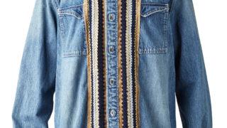 11/14の10周年イベントJUMPARTYで八乙女光くんが着ていた私服のsacai REMAKE DENIM SHIRT
