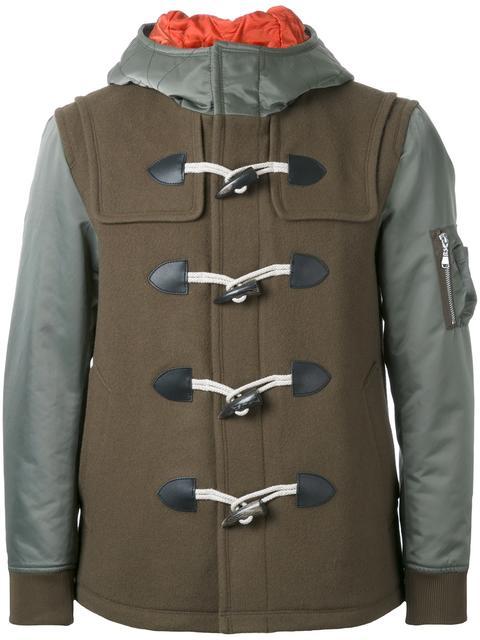 JUMP個人面接で 有岡大貴さん着用の私服ダッフルコートのGUILD PRIMEフード付きダッフル