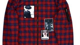 Hey!Say!JUMP 有岡大貴くんが12/15のザ少年倶楽部プレミアムで着用した衣装KINGLY MASKワッペンレッドチェックブルゾン