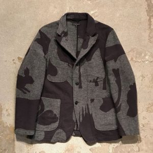 Doors ジャケ写で松本潤くん着用の衣装 ENGINEERED GARMENTS Bedford Jacket-Animal Wool Jacquard