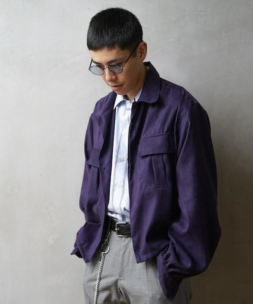 嵐 相葉雅紀さんが1/25 VS嵐で着用した衣装のNuGgETS Open-necked shirt - suede