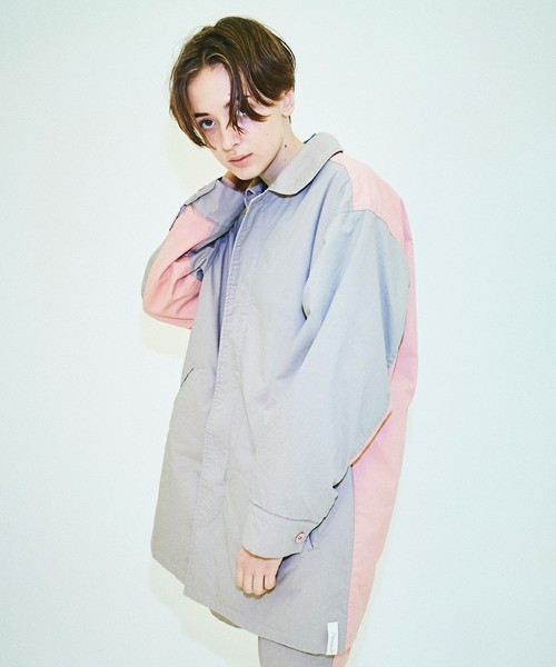 嵐 二宮和也さんが2/8 VS嵐で着用した衣装のAlexanderleechang 2018春夏 MRAL COAT