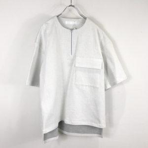 Hey!Say!JUMP 有岡大貴くん が2/3放送のいただきハイジャンプで着用した衣装・ETHOSENS stretch denim Tee White