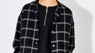 2/27グッとスポーツで相葉雅紀さん着用の衣装・STUDIOUS HIGH ビッグチェックオーバーサイズブルゾン