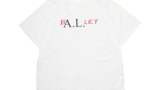 "NEWS増田貴久さんが3/16放送のザ少年倶楽部プレミアムで着用した衣装のALICE LAWRANCE ""BALLET""T-shirt / White"