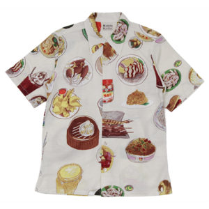 VS嵐 で二宮和也さん着用の衣装 Bohemians(ボヘミアンズ)】 | SHIRTS(シャツ) | YUMMY HONG KONG GAUZE S/S ALOHA SHIRTS