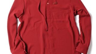 TVガイドPLUS30 亀梨和也さん着用の衣装のCULLNI ノーカラーベルトシャツ