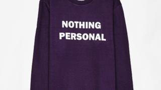 キスマイのアルバムyummy!!に収録されているMr.Starlightで宮田俊哉さん着用の衣装・Bershka  Sweatshirt with slogan