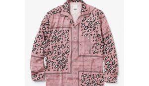 5/5放送の嵐にしやがれで松本潤さん着用の衣装 YSTRDY'S TMRRW YANKEE SHIRT LEOPARD