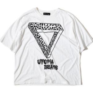 5/10 VS嵐で二宮和也くん着用の衣装のALDIES/アールディーズ 『Utopia Beats Big T』 ユートピアビーツビッグT