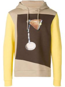 5/5 4/21放送の嵐にしやがれで相葉雅紀さん着用の衣装 FENDI カラーブロックパーカー