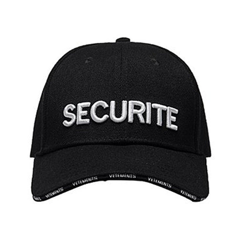 岩本照くん着用の私物キャップ・Vetemens SECURITE CAP
