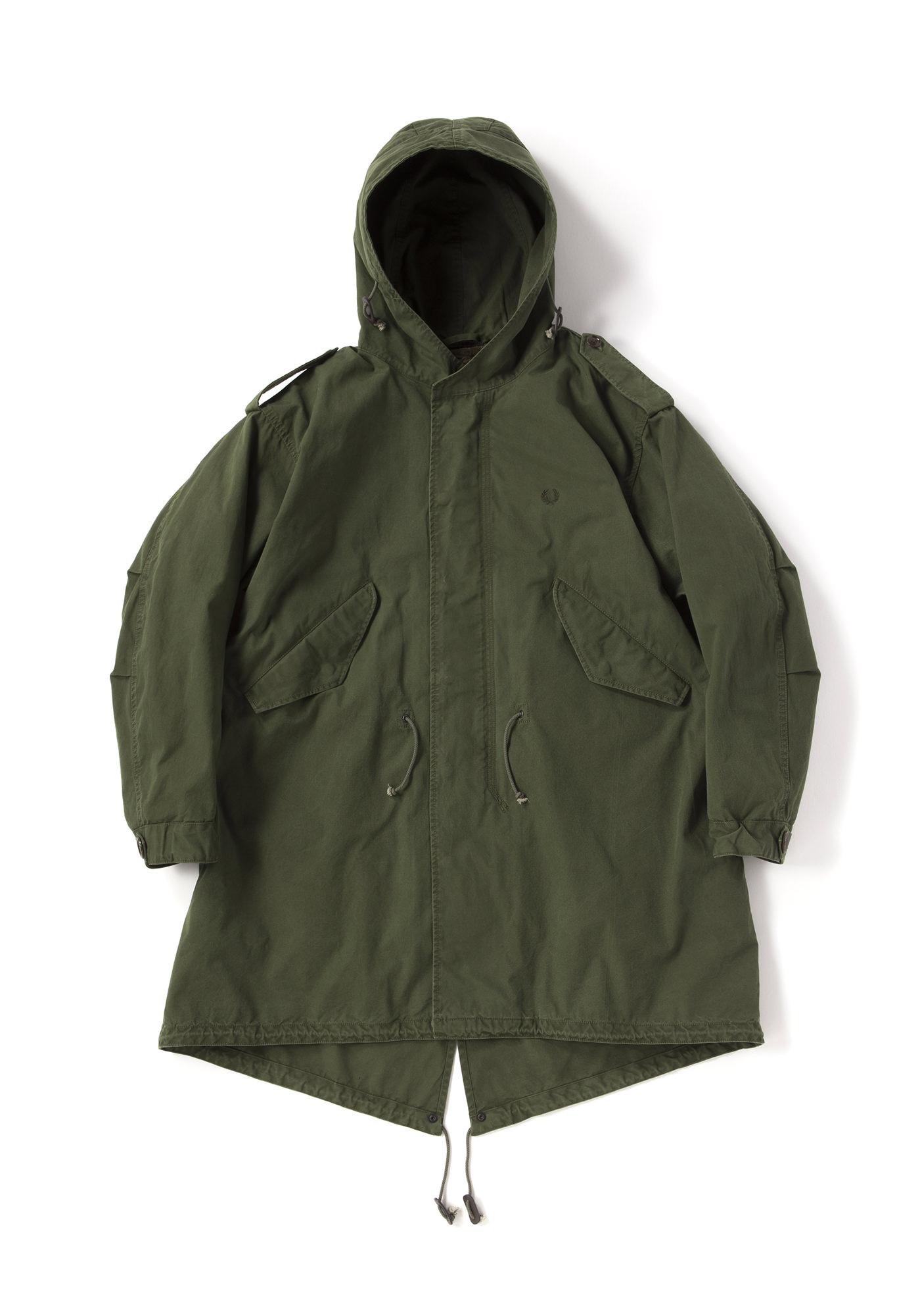 僕とシッポと神楽坂で嵐の相葉雅紀さん着用の衣装・FRED PERRY M51 - FISHTAIL PARKA