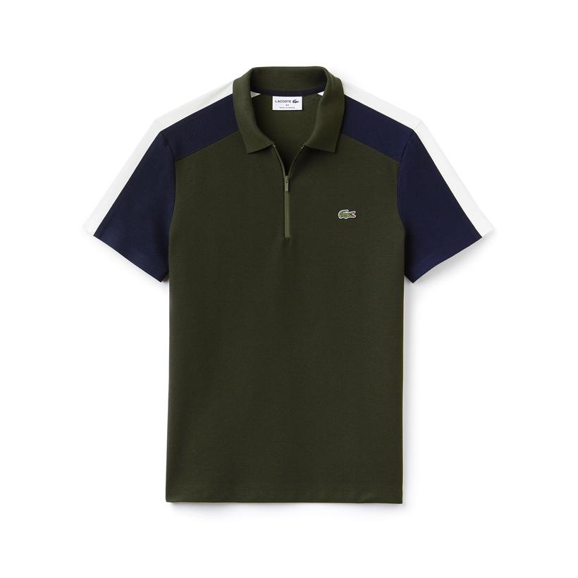 ワクワク学校2018で 松本潤さん着用の衣装・LACOSTE MEN'S MADE IN FRANCE REGULAR FIT COLORBLOCK PIQUÉ POLO