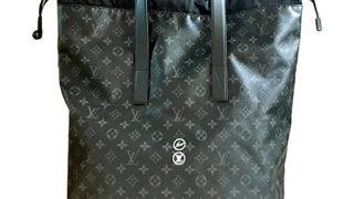 嵐の相葉雅紀さんと関ジャニ∞の横山裕くんのお揃いバッグ・LOUIS VUITTON × fragment フラグメント コラボ カバライト M43417 エクリプス