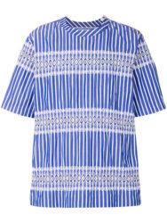 THE MUSIC DAYで知念侑李君着用の衣装・SACAI striped shirt