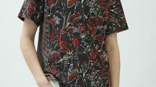 VS嵐で松本潤さん着用の衣装・yoshiokubo GROUNDFLOOR 『DRY LEAF』ショートスリーブTシャツ