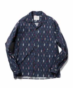 嵐に支社枯れで大野智さん着用の衣装・BEAMS LIGHTS / DEVEAUXオープンカラーシャツ