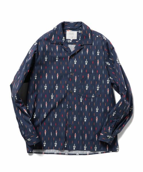 嵐にしやがれで大野智さん着用の衣装・BEAMS LIGHTS / DEVEAUXオープンカラーシャツ