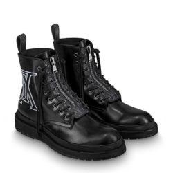 山田涼介くんの私物ブーツ・Louis Vuitton ブラックアイス・ライン アンクルブーツ