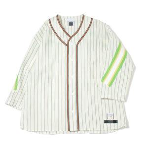 増田貴久さん 少クラプレミアムで着用した衣装・FACETASM RIB BASEBALL SHIRT