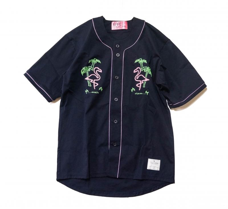 TVガイドで藤ヶ谷太輔君着用の衣装・ベースボールシャツEFFECTEN(エフェクテン) BASEBALL SHIRTS 'Flamingo'