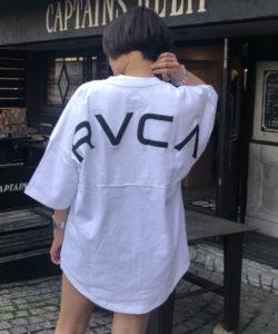 山田涼介君の私服tシャツ・RVCA ルーカ バックロゴTシャツ