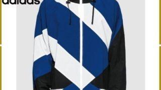 King&Prince 岸優太くんの私服・adidas originals EQT フード付 ジップウインドブレーカー