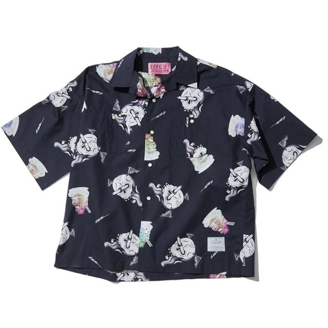 TVガイド北山宏光さん着用の衣装・EFFECTEN(エフェクテン) original graphic aloha shirt