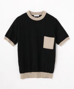 嵐にしやがれにて 松本潤さん着用の衣装・1/10 TOMORROWLAND MEN  tricot ポケット クルーネックTシャツ