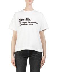 相葉雅紀 JAL Fly for it 着用の衣装・sacai  Truth Cotton Tee