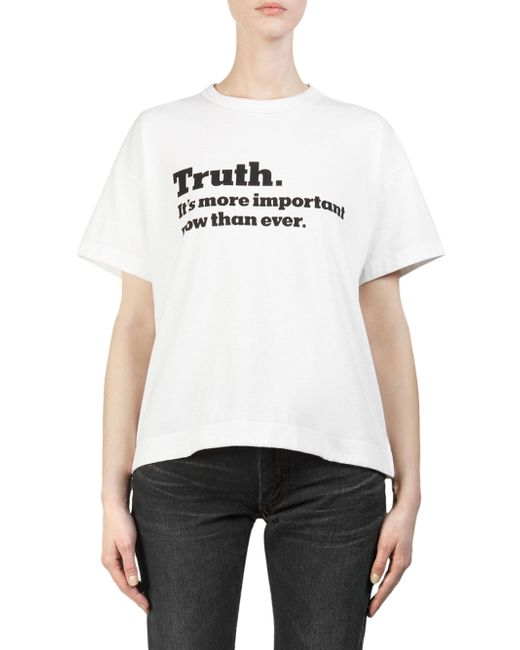 相葉雅紀 JAL Fly for it 着用の衣装・sacai  Truth Cotton Tee