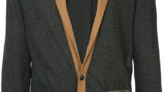 9/29放送の嵐にしやがれで松本潤さん着用の衣装・KOLOR contrast lapel cardigan