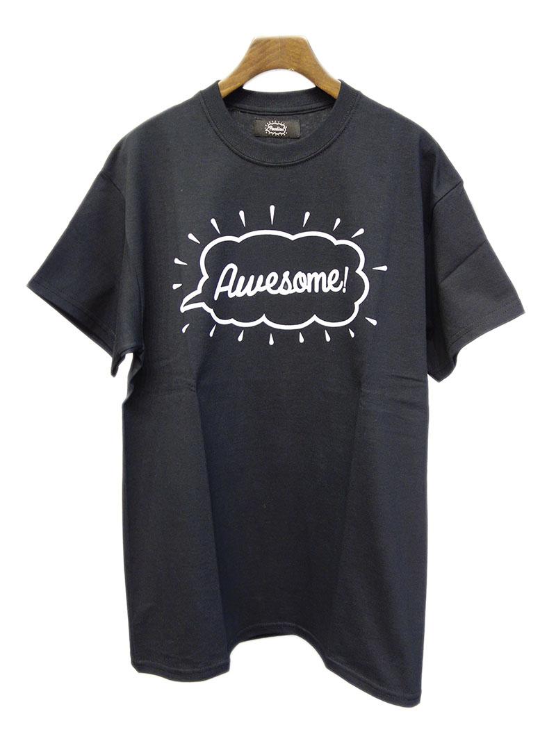 宮舘涼太さん着用の私服・Paradise! Tee -Awesome- (BK) / パラダイス Tシャツ