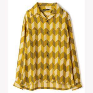 9/22嵐にしやがれで二宮和也さん着用の衣装・RATTLE TRAP ストライプシャツ(アローストライプ)